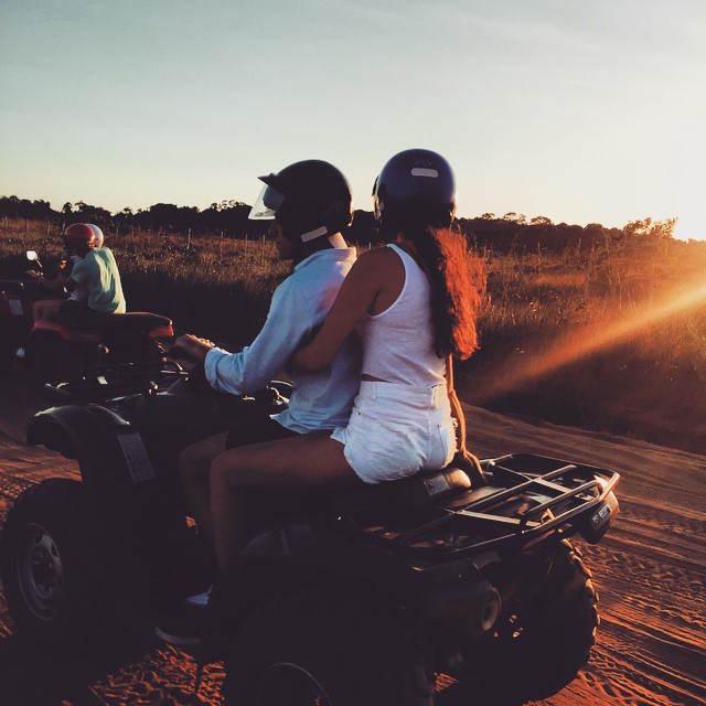 Quads pareja aniversario magnifico adrenalina