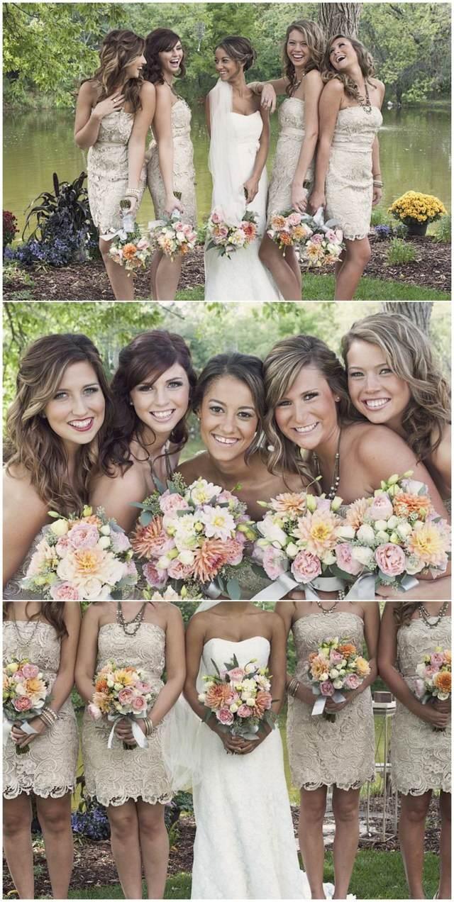 almendra tostada color moderno decoración entera boda preciosa