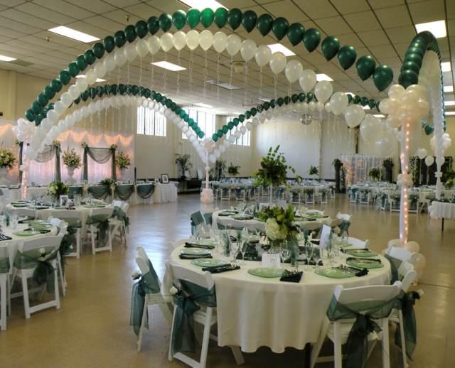 arreglos de globos arco precioso ideas decoración fantástica boda