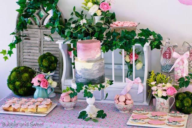 arreglos florales decoración fantástica fiestas infantiles