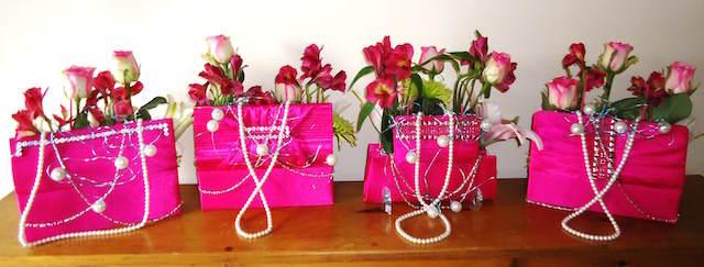 arreglos florales fiesta infantil muchacha