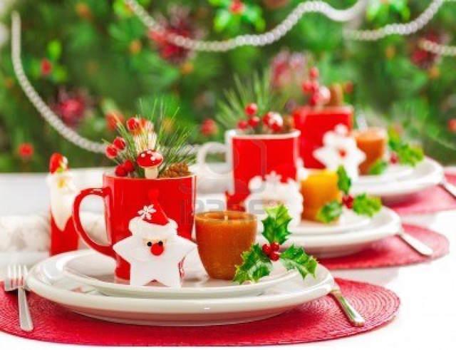 arreglos florales preciosos fiesta Navidad