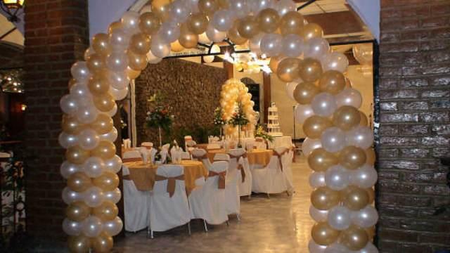 arco arreglos globos ideas preciosas boda