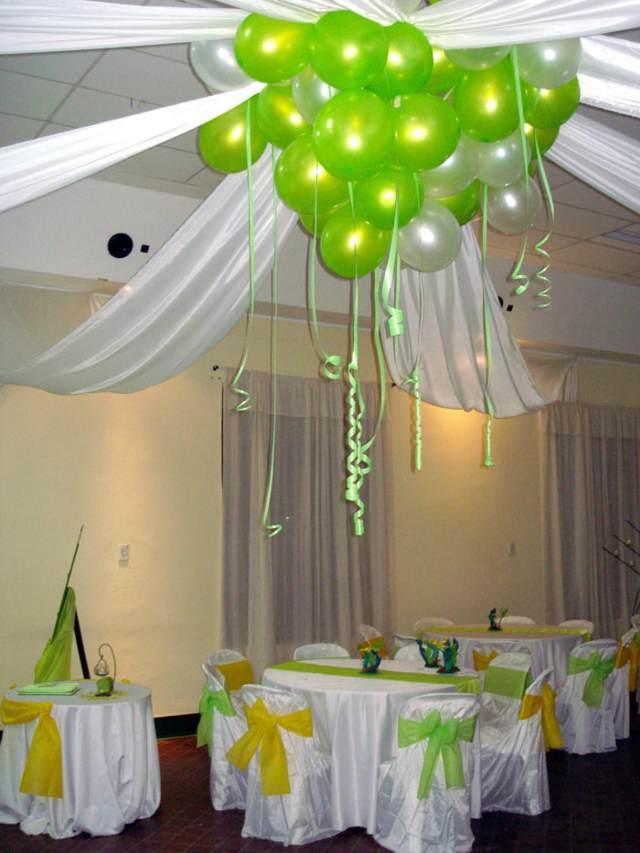 boda decoración arreglos globos ideas fantásticas