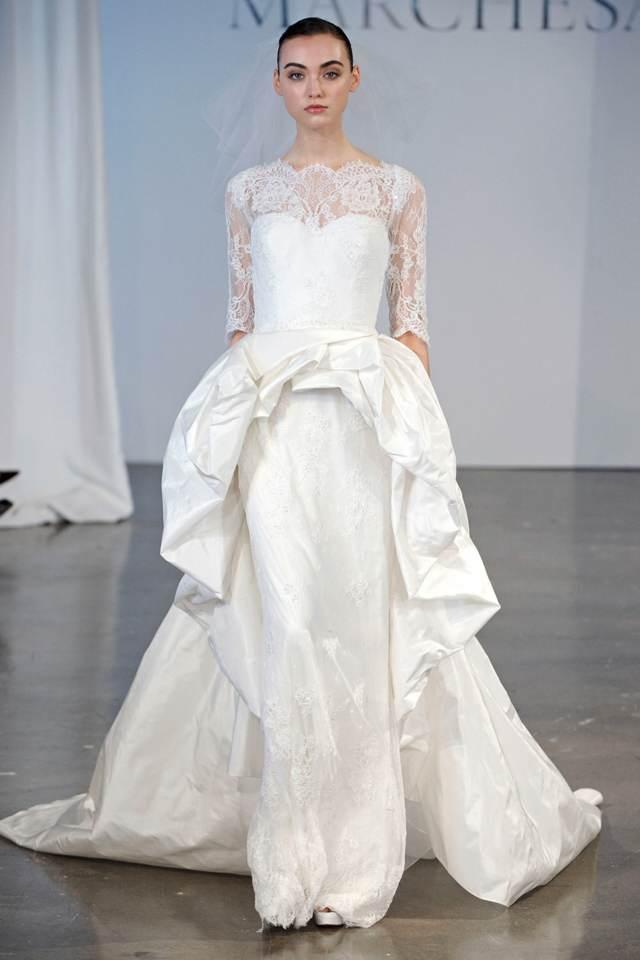 boda novia traje original tendencias modernas modelos interesantes