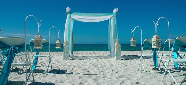 bodas en la playa moda 2015 verde lucite