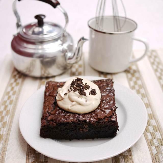 brownie chocolate postre delicioso fiesta temática