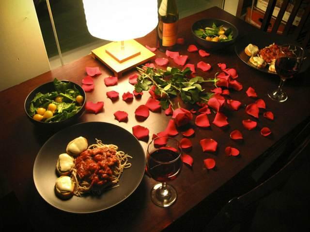 cena romántica regalo precioso novio ideas