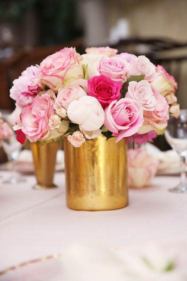 centro de mesa moda 2015 estilo vintage