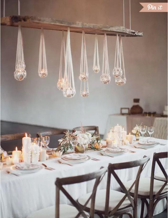 centros de mesa para boda estilo bohemio 2015