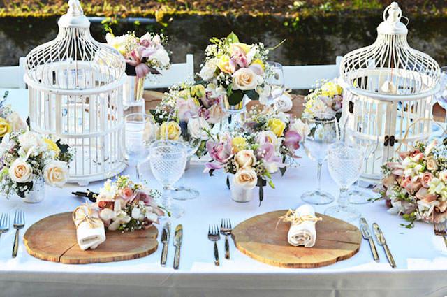 centros de mesa para boda estilo bohemio