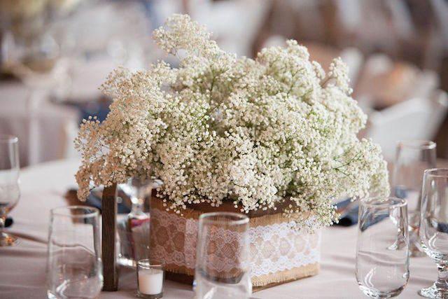 centros de mesa para boda preciosa - estilo rústico