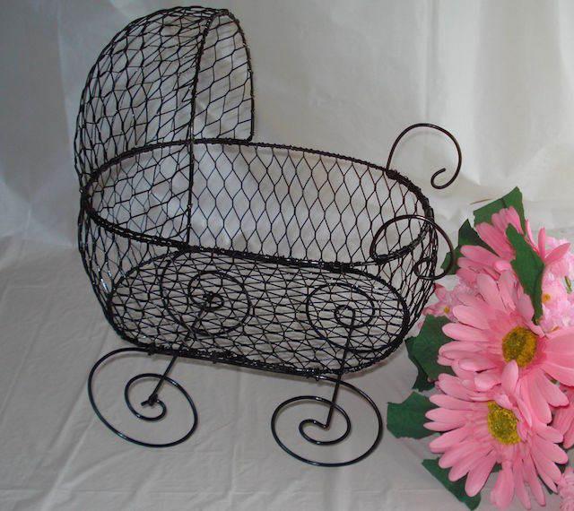 cochecito estilo vintage recuerdos para baby shower