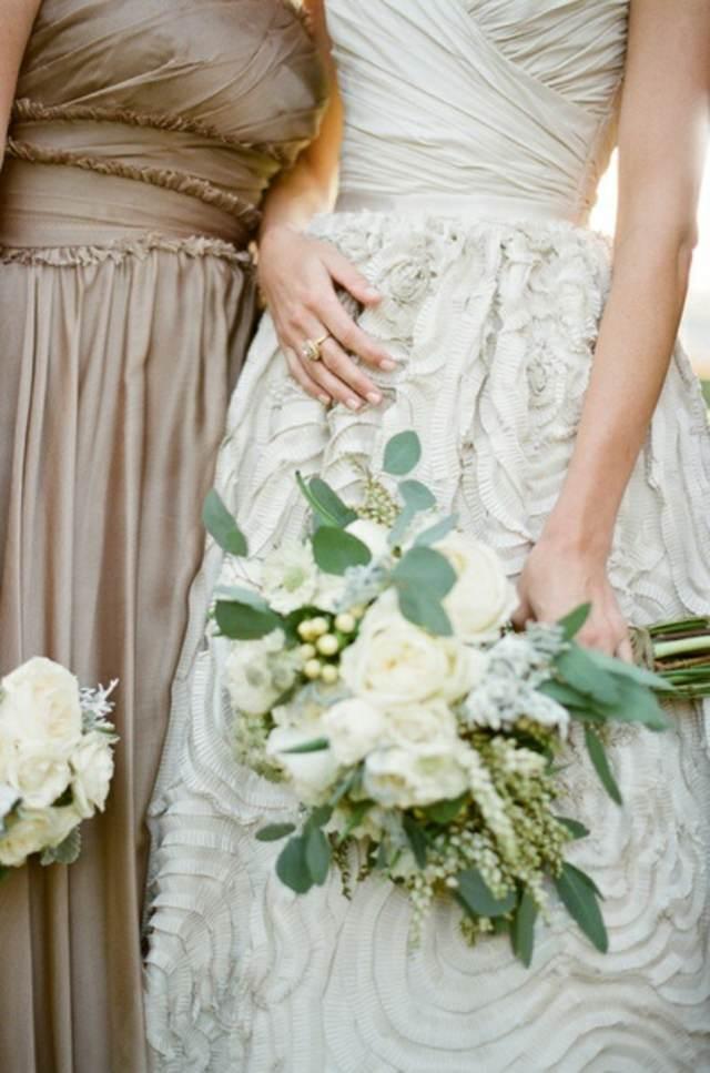 colores modernos invitaciones decoración entera almendra tostada 2015