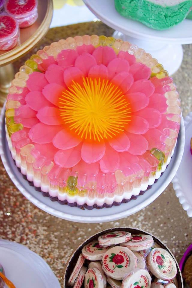 comida mexicana preciosa decoración temática bautizo