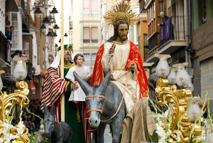 procesión entrada Jerusalén Domingo de Ramos