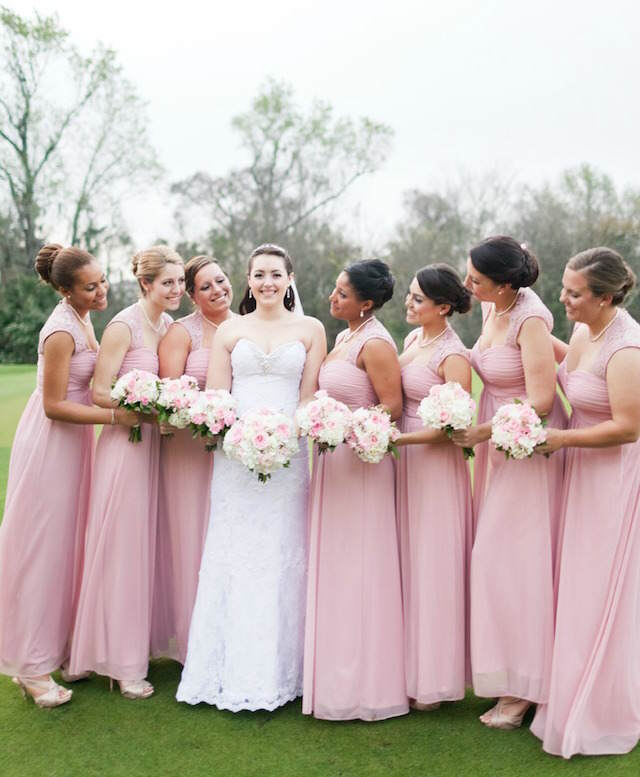 vestidos damas de honor boda fresa hielo moda