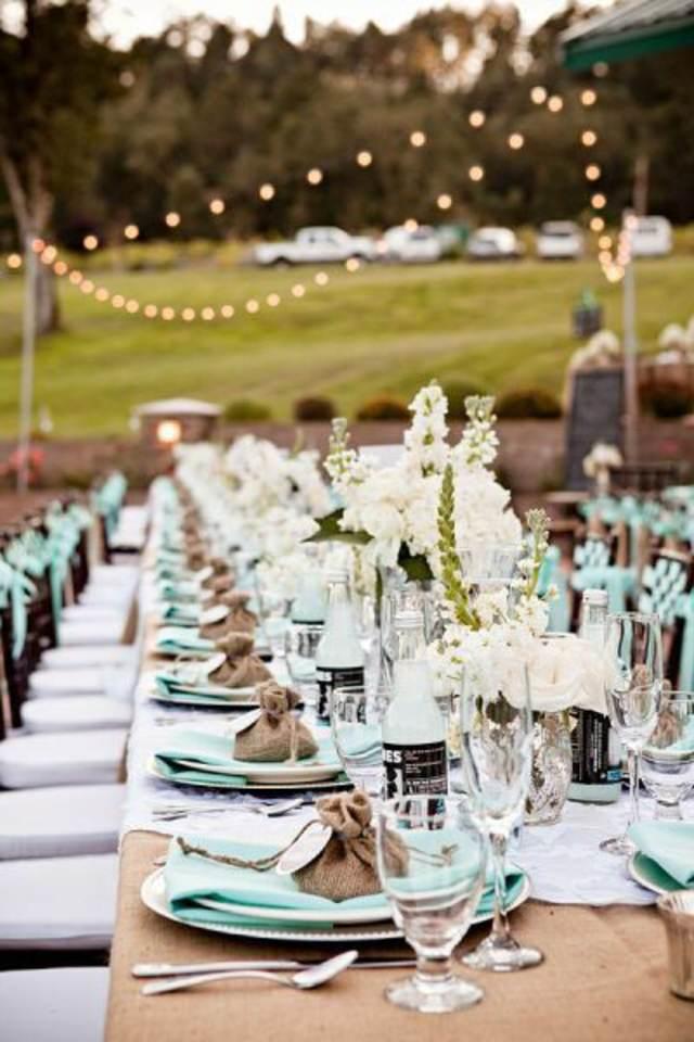 decoración preciosas boda color moderno 2015 almendra tostada