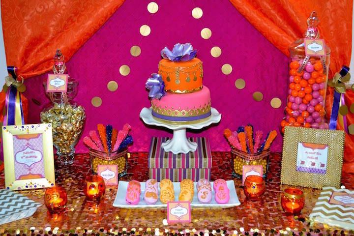 estupendas decoracion invitaciones de baby shower estilo marroqui