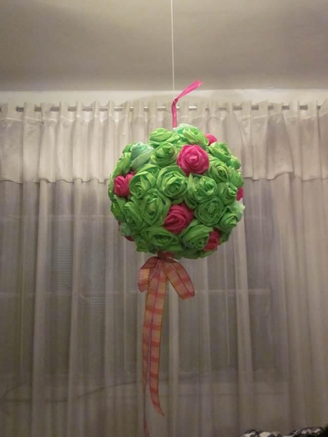 flores de papel crepe decoración original ideas fantásticas
