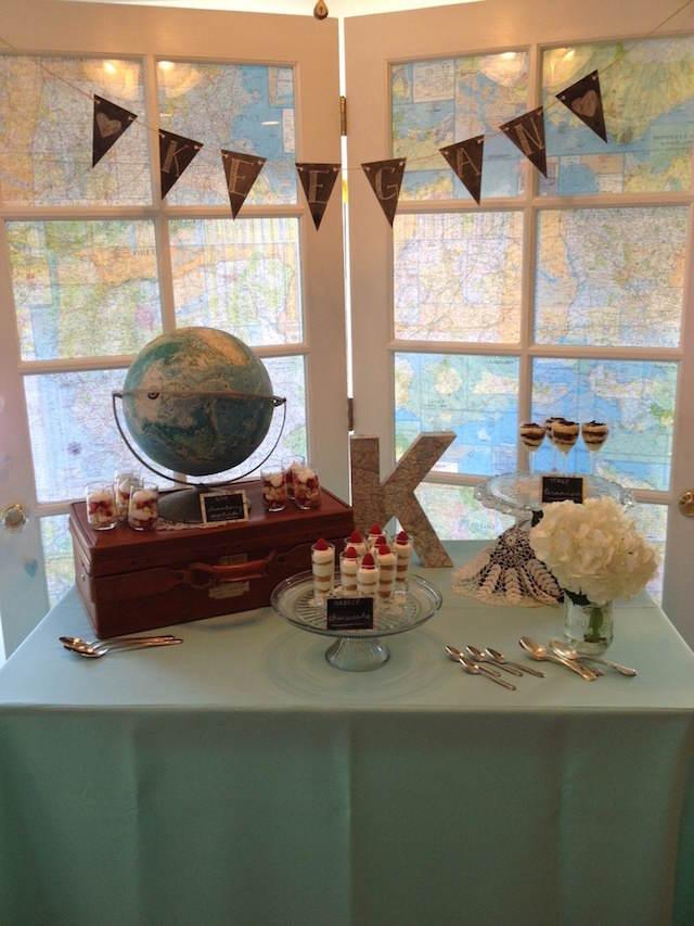 decoración recuerdos para baby shower temáticos viaje