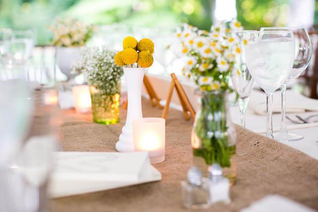 decoración tierna estilo rústico boda