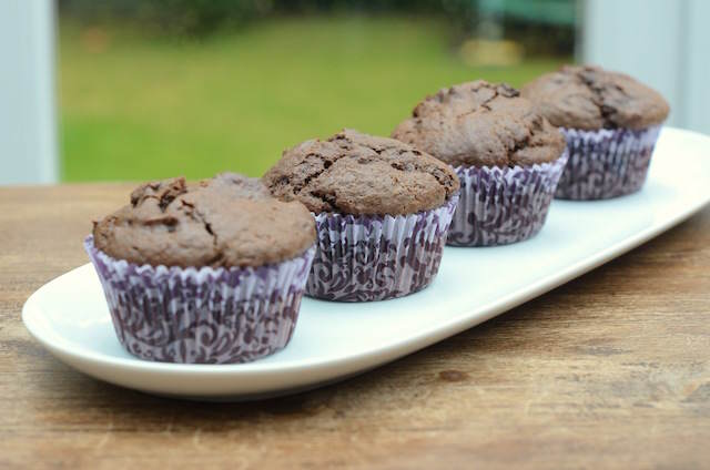 irresistibles muffins de chocolate cada evento
