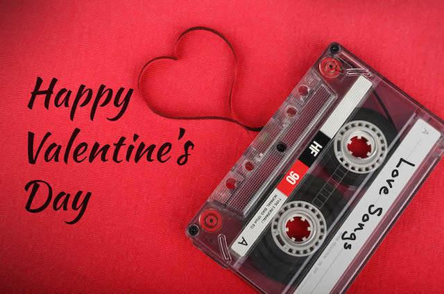 fiesta de san Valentín canciones de amor