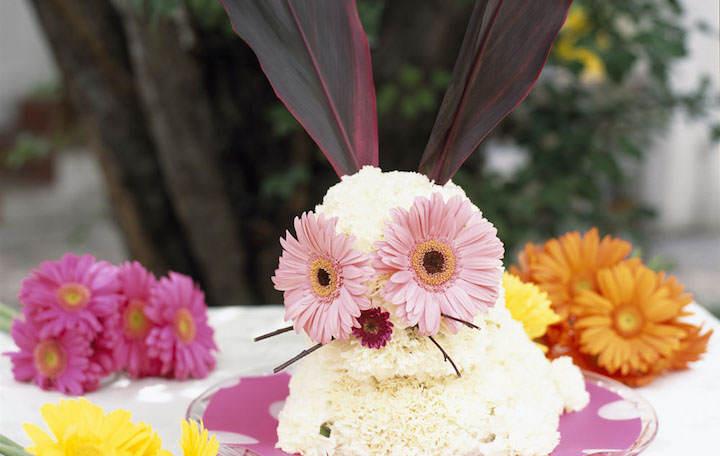 diseño creativo arreglos florales infantiles