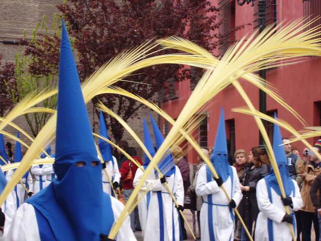 domingo de ramos en Zaragoza España