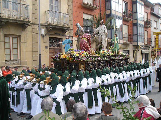 domingo de ramos celebración todos cristianos