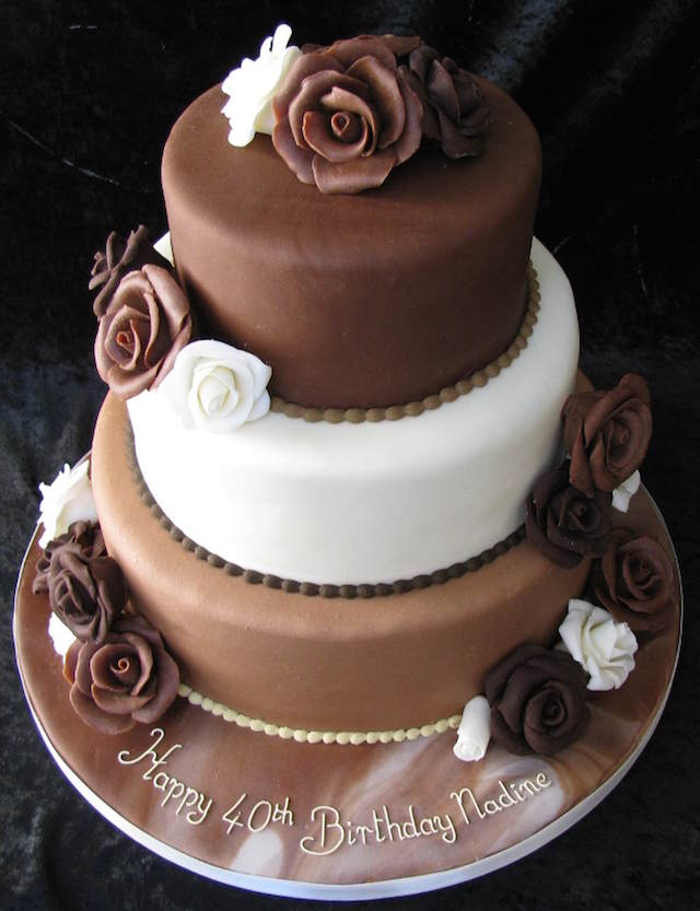 sutil tarta tres chocolates aniversario
