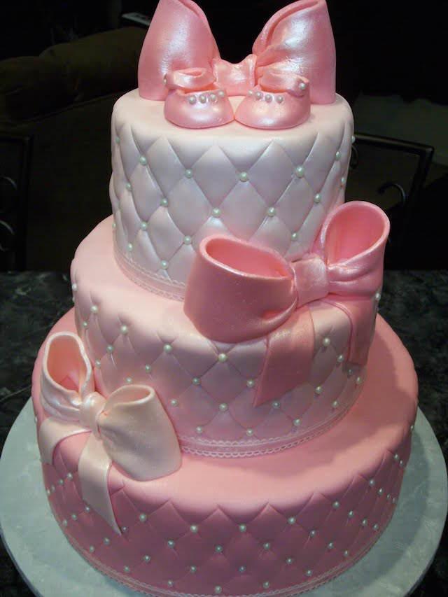 elegantes pasteles para baby shower estilo vintage
