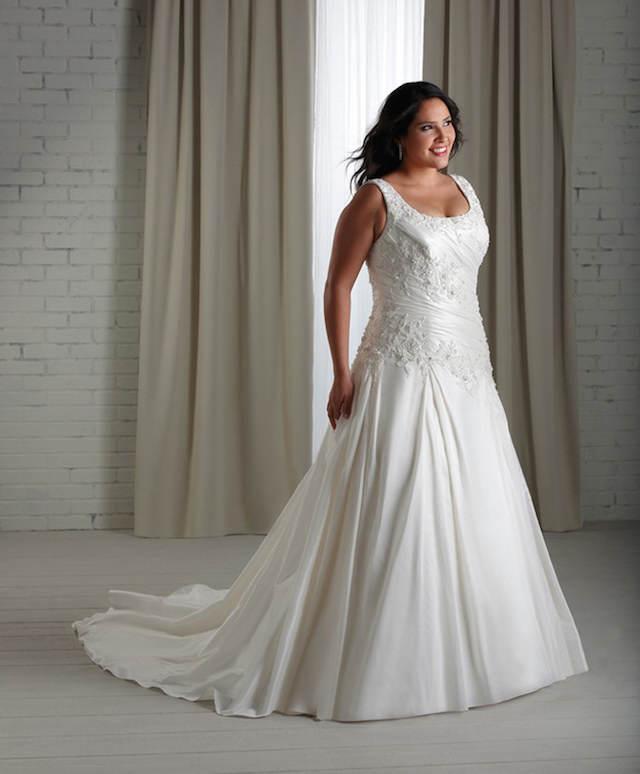 escaje estilo vintage vestidos de novia para gorditas