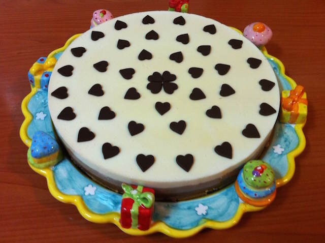fantástica decoración fiesta infantil pastel 3 chocolates