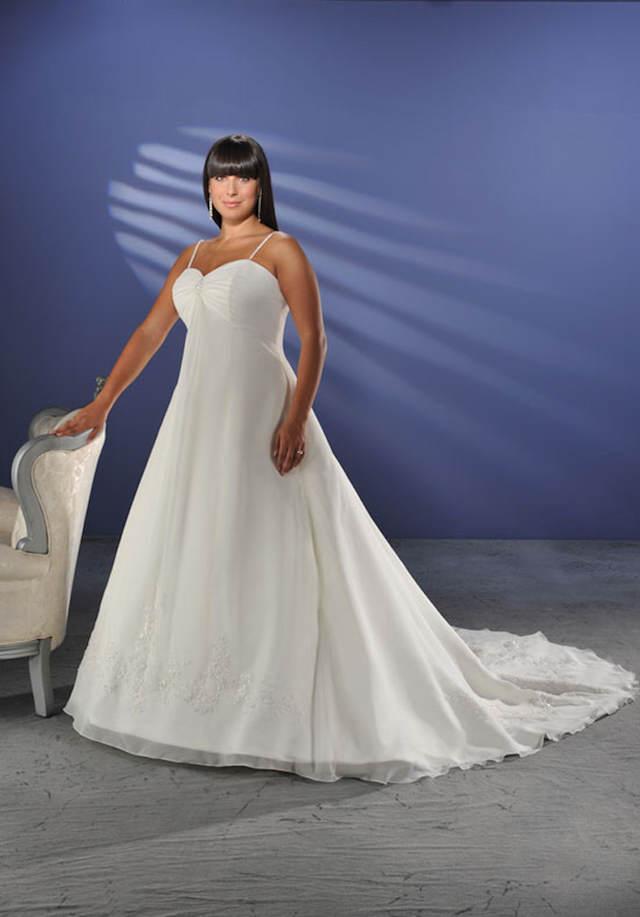 estupendos vestidos de novia para gorditas