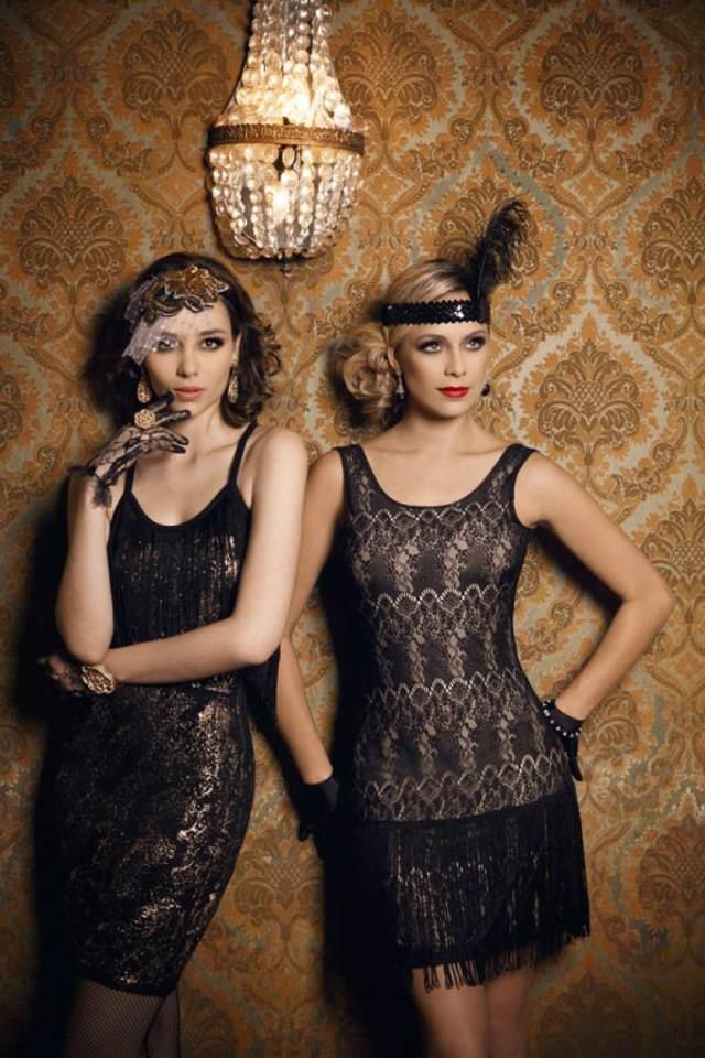 fiesta corporativa preciosos vestidos vintage ideas originales