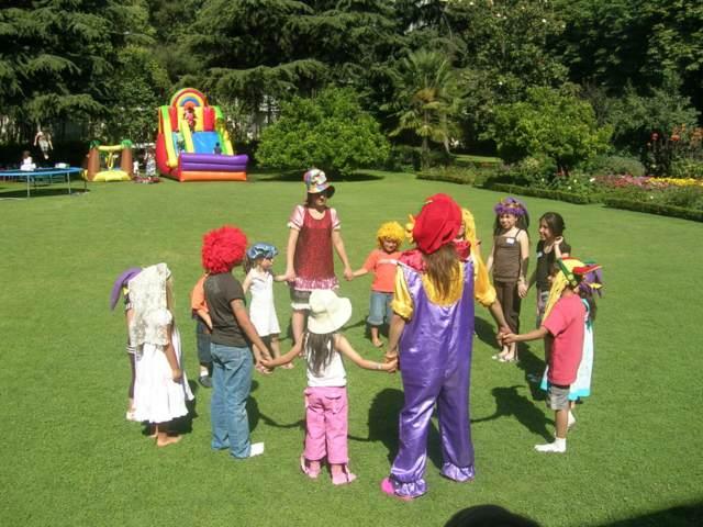 fiesta infantil juegos preciosos ideas interesantes