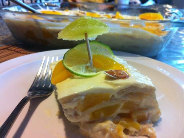 fiesta menú postre delicioso limón recetas