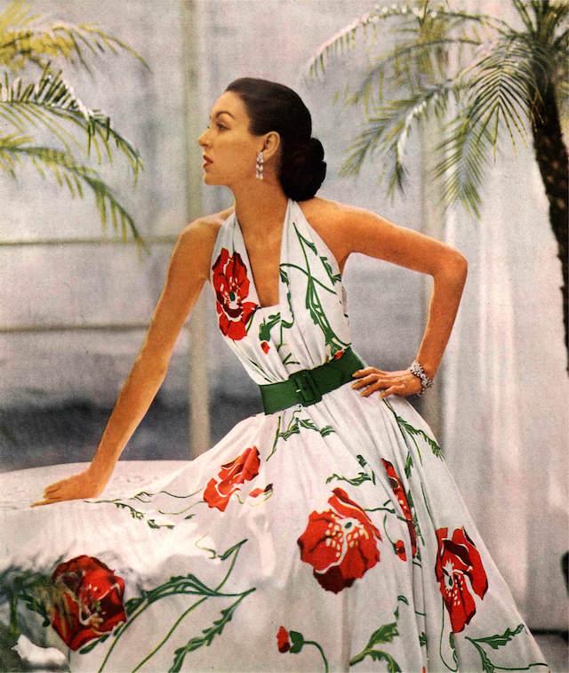 fiesta temática cumpleañera vestido vintage