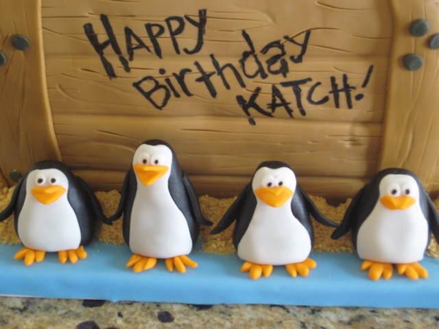 fiestas infantiles cumpleaños niño tema pingüino