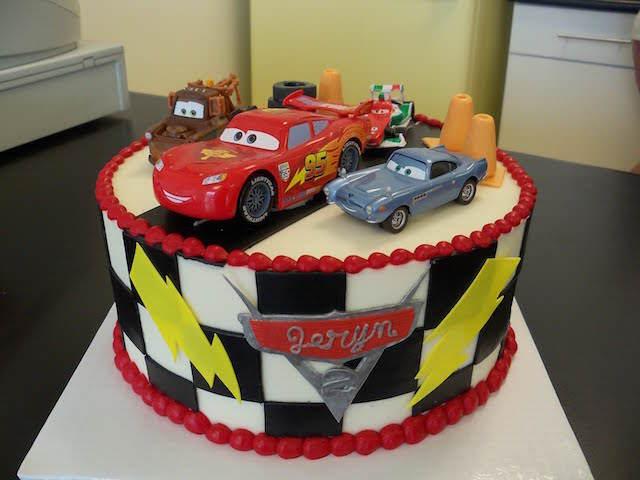 fiestas infantiles pastel para cumpleaños cars