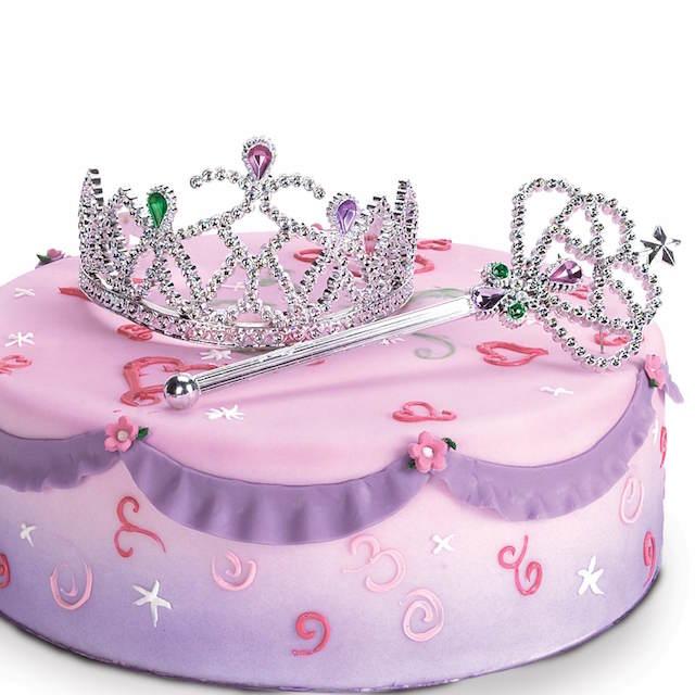 fiestas infantiles precioso pastel niña princesa