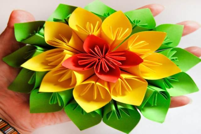 flores papel crepe ideas decoración evento memorable