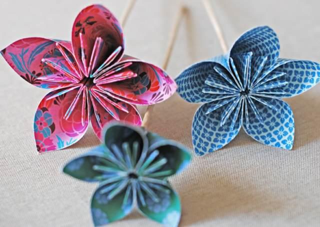 flores de papel crepe ideas fantásticas decoración evento memorable