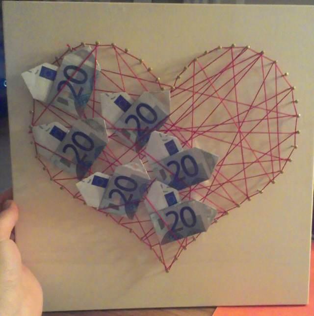 formas divertidas dar dinero novios regalos