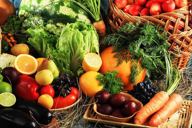 frutas y verduras frescas preciosas comidas sanas