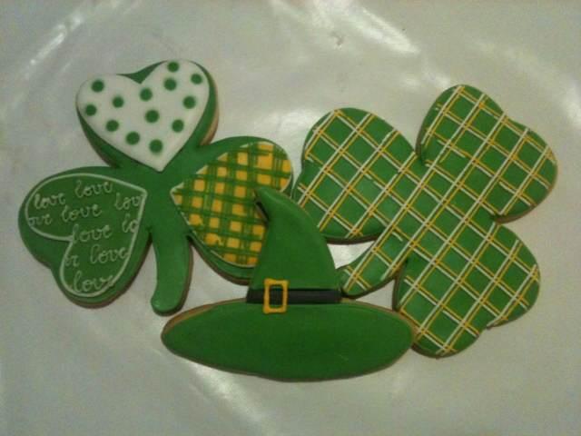 galletas día San Patricio decoración temática
