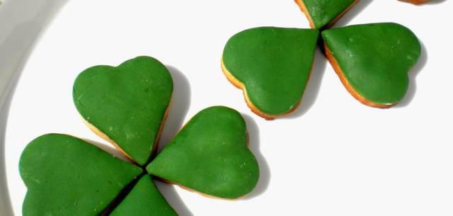galletas forma trébol fiesta San Patricio