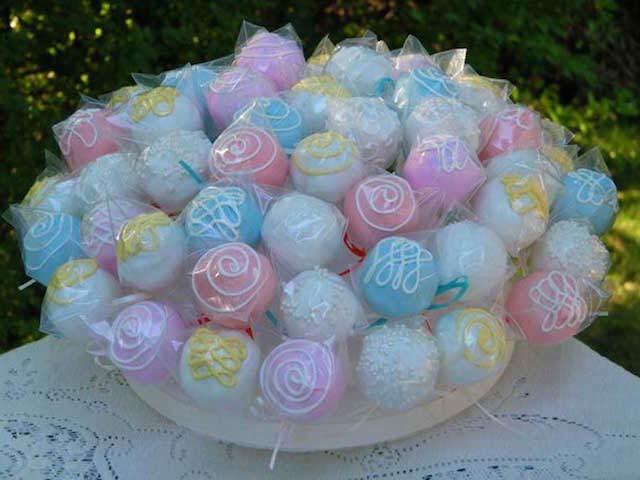 ideas creativas pasteles para baby shower diferentes paletas